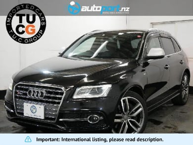 Audi SQ5 3.0TFSI Quattro Ashi P Nappa Leather P 21AW