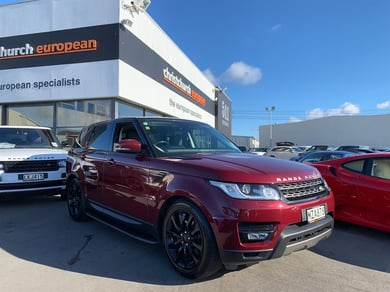 Land Rover Range Rover Sport 3.0 TDV6 SE 7 Seater Black Package