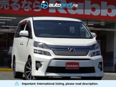 Toyota Vellfire 2.4Z Golden Eyes II
