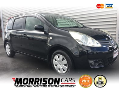 2010 Nissan Note 15X listing image