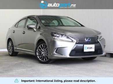 Lexus HS 250h version C pre-crash radar cruise