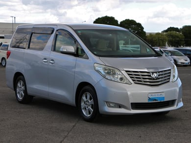 Toyota Alphard Rear camera.8 seater.Park sensors.