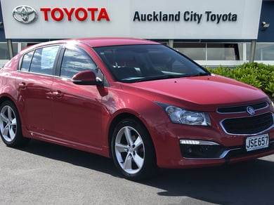 Holden Cruze Sri-V 1.6P Hatchback