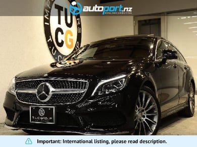 Mercedes-Benz CLS 220 Shooting Break Bluetec AMG Line