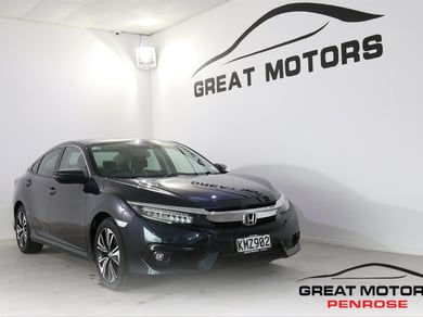 Honda Civic NT TURBO 1.5PT NZ NEW