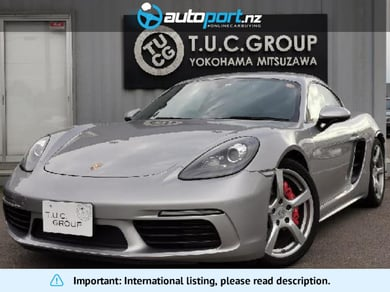Porsche Cayman Porsche 718 S PDK Spokuro PKG genuine leather heater