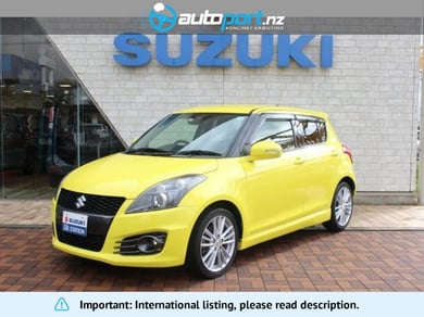 Suzuki Swift Sport Base grade HDD navigation HID head