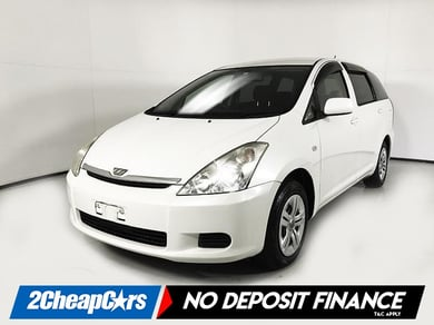 Toyota Wish - from $26.81 weekly - Napier Branch