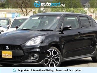 Suzuki Swift Sports 1.4 Safety Package equipped vehicle