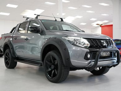 Mitsubishi Triton NZ NEW 4WD Black Edition Onsite Finance
