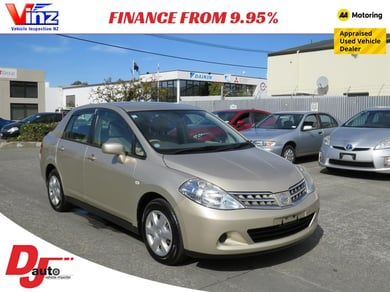 2009 Nissan TIIDA Late Model Low Km's listing image