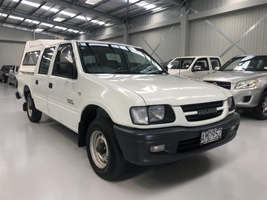 2002 Holden Rodeo 4X2 2.8l Turbo Diesel/Canopy/Tow Bar listing image