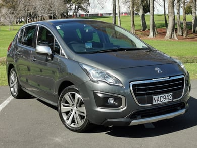 Peugeot 3008 ALLURE 2.0D/6AT/HA/5