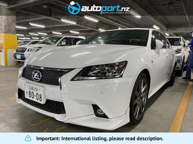Lexus GS300H F Sport Sunroof Genuine Leather
