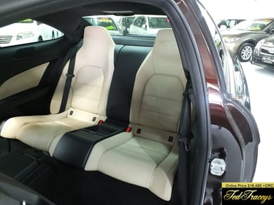 Mercedes-Benz C 180 Coupe leather seats 54000 ks
