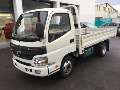 Foton Aumark BJ1051 FLAT DECK WITH REVERSE CAMERA