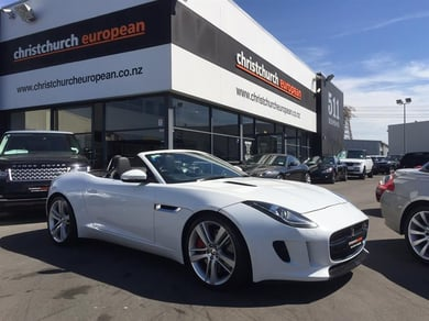 Jaguar F-Type S Supercharged Convertible
