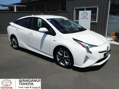 Toyota Prius GX NZ New full service history