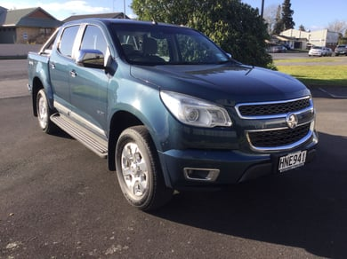 Holden Colorado Ltzdcpu 2.8D/4Wd/6At